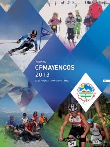 Portada Anuario Club Pirineísta Mayencos temporada 2012-2013