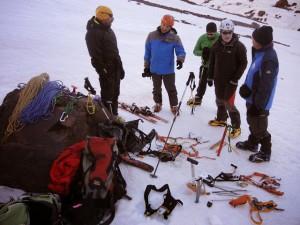Prácticas de montaña