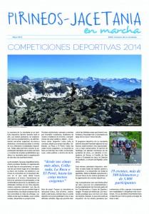 Competiciones Deportivas Jacetania en Marcha 2014