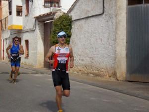 Fernando en la carrera a pie