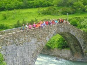 Puente peregrinos Canfranc
