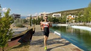 Corriendo entre los lagos