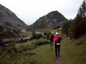 Llegando a Candanchú