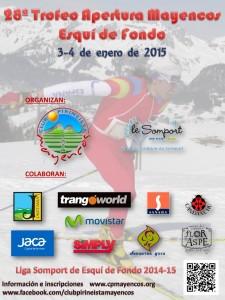 Cartel 28º Trofeo Apertura Mayencos 2015