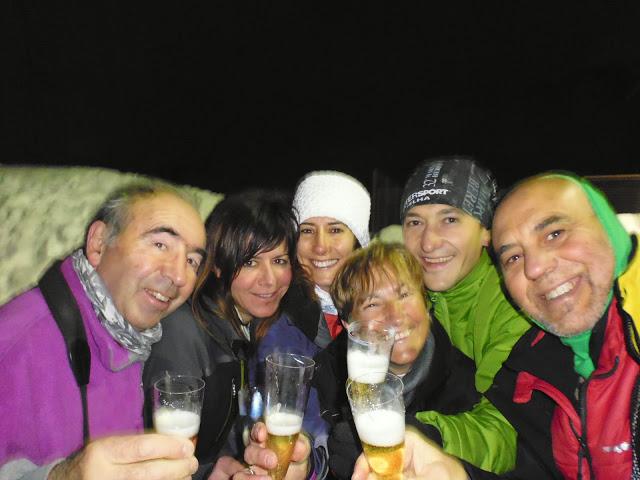 Nocturna raquetas 2013-2