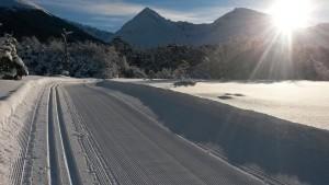 La excelente calidad de la nieve permitirá obtener el máximo rendimiento a los entrenamientos.