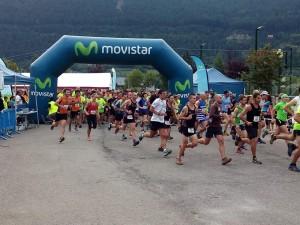 Casi 300 corredores tomaron la salida.