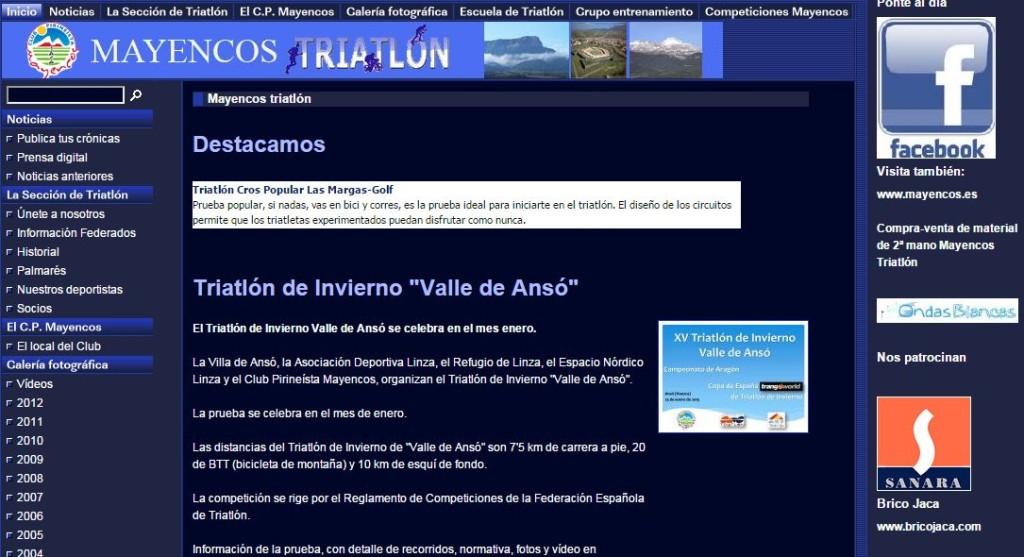 Web mayencostriatlon.org