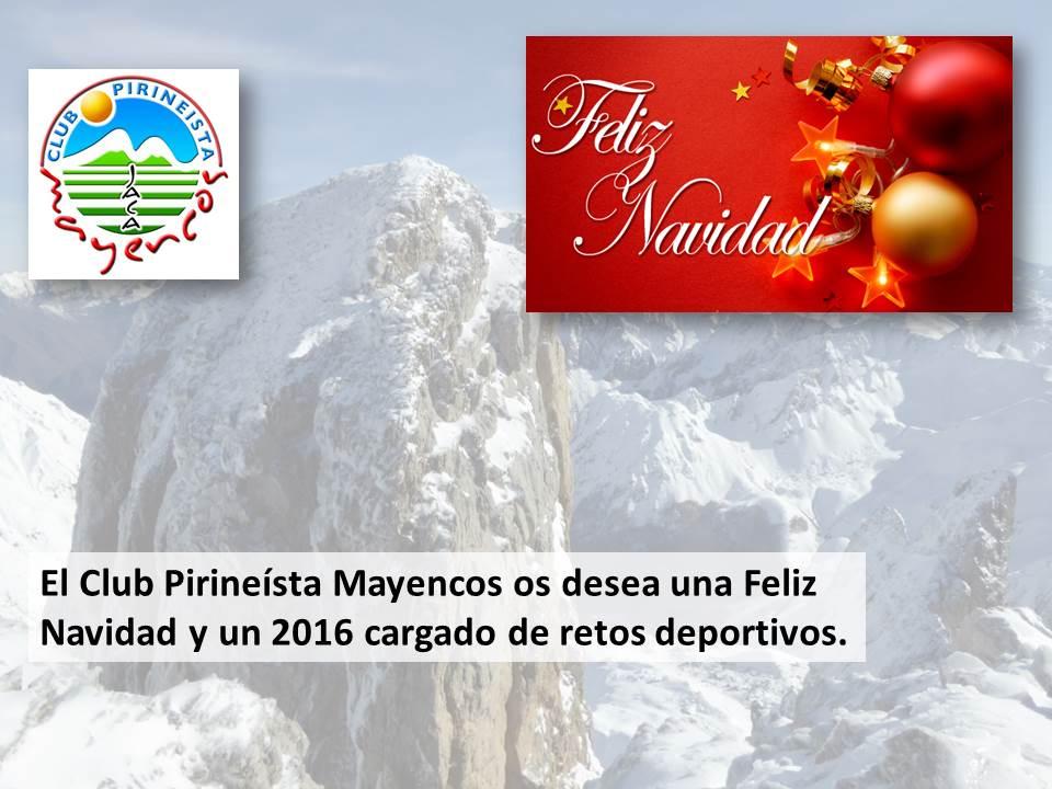 Felicitación Navidad Montaña CP Mayencos 2015
