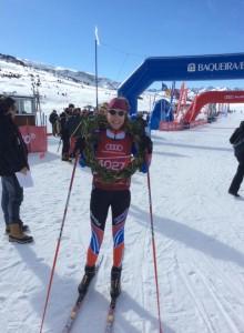 Bea Blanes tras su triunfo en la primera jornada