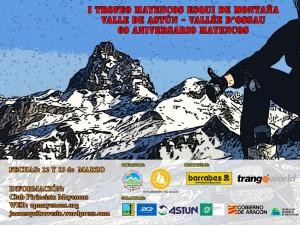 Cartel Web Trofeo Mayencos Esquí de Montaña