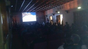 El Salón de Ciento, abarrotado de público durante las charlas