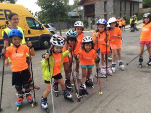 Rollerski y patines