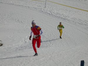 Noel Marcen. 2004 Wildhaus ITU Winter Triathlon World Champions