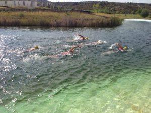Entrenamiento de natación en Las Margas