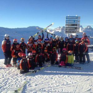 Un grupo de alpino