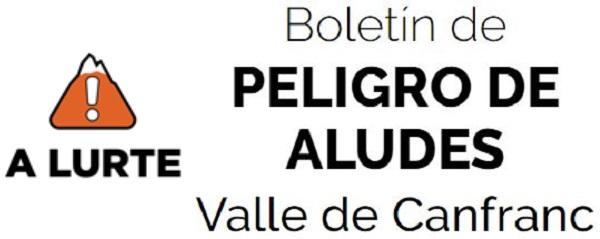 Boletín de PELIGRO DE ALUDES Valle de Canfranc
